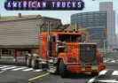 3D Skill Parking American Trucks Game