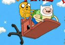 Adventure Time Finn Up Game
