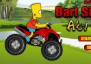 Bart Simpsons Atv Sõit Game