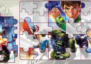 Ben 10 Ultimate Alien Jigsaw Puzzle