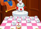 Checkers Of Alice In Wonderland Game