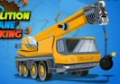 Demolition Crane Parking Game
