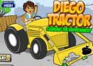 Diego Tractor Cleaning The Environment Game