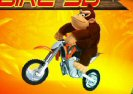 Donkey Kong Bike 3D Game