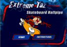 Extreme Taz Skateboard Game