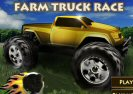 Farm Truck Race Game