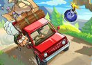 Hill Climb Twisted Transport Game