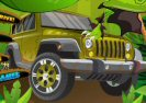 Jurassic Jeep Madness Game