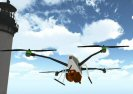 Land Quadcopter Game