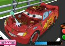 Lightning Mcqueen Car Wash Game