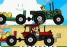 Mario Tractor Drag Race Game