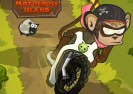 Monkey Motocross Island Game