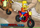 Simpsons Family Race Game