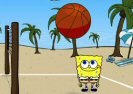 Sponge Bob Beach Volleyball