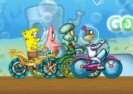 Bob Esponja Ciclo Race Game