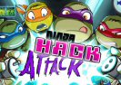 Teenage Mutant Ninja Kilpkonnad Hack Attack Game