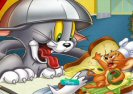 Tom Ja Jerry Spin Puzzle Game